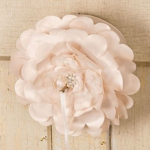Sensational Floral Ring Pillow