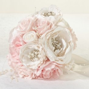 Shabby Chic Artificial Wedding Bouquet