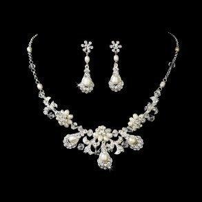 Silver Pearl Vintage Set
