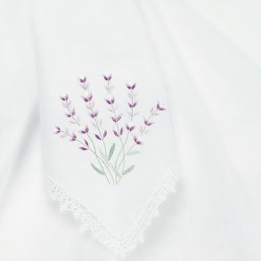Stems of Lavender Handkerchief