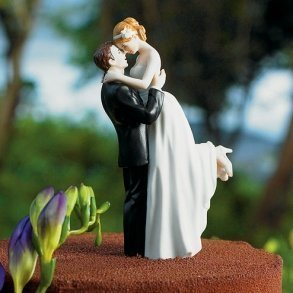 True Romance Wedding Couple Figurine