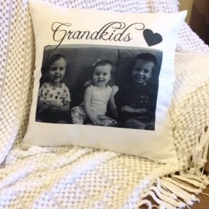 Unique Personalised PHOTO Pillow - Keepsake Gift