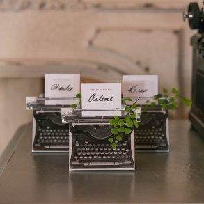 Vintage Inspired Typewriter Favour Box Kit