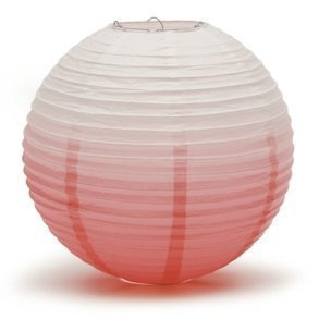 Watermelon Ombre Hanging Paper Lantern