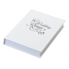"""The Wedding Rings"" Ring Book Box"