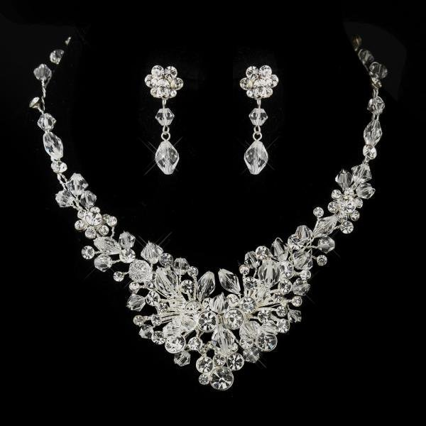 Austrian Crystal Bridal Jewellery Set