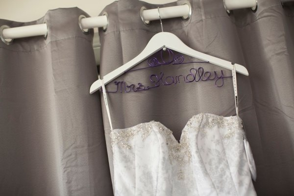 Cinderella Carriage Bridal Coat Hanger