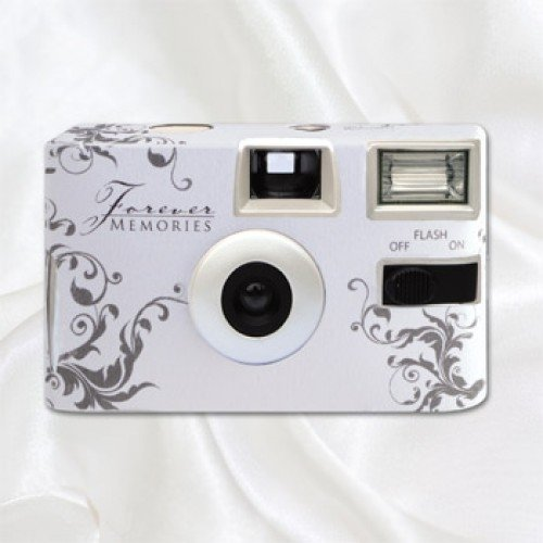 Classic Silver Disposable Wedding Camera Silver Wedding Theme Shop By Col