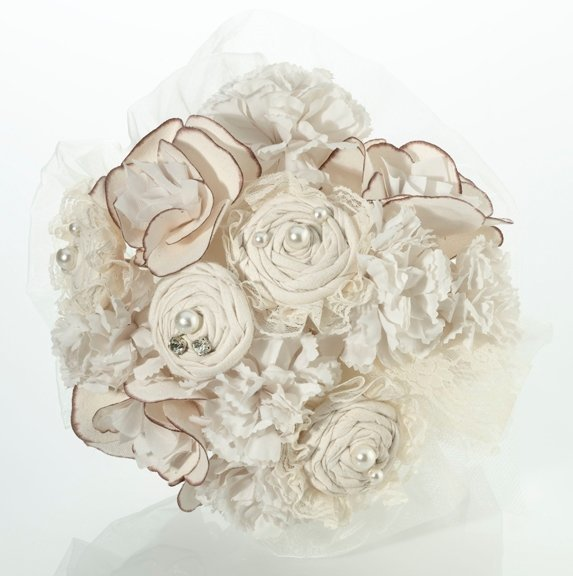 Country Casual Artificial Wedding Bouquet