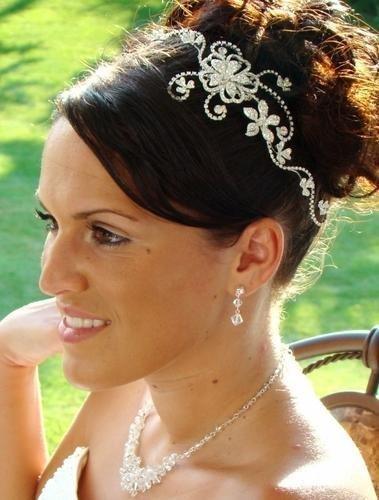 Couture Rhinestone Bridal Comb