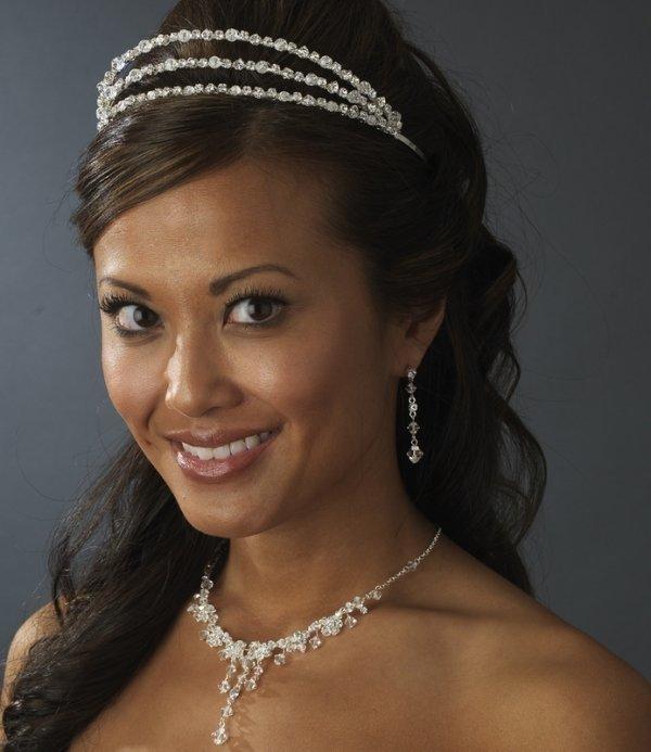 Crystal Drop Bridal Jewellery Set