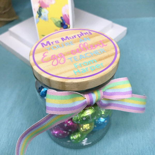 You're An Egg-cellent Teacher Personalised Jar