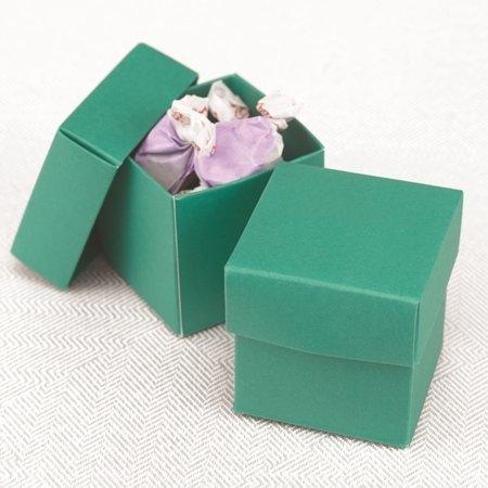 Two Piece Emerald Favour Boxes