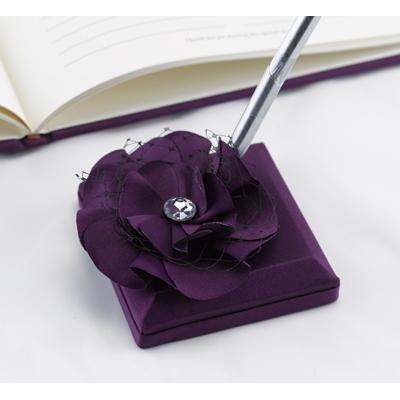 Floral Fantasy Purple Pen