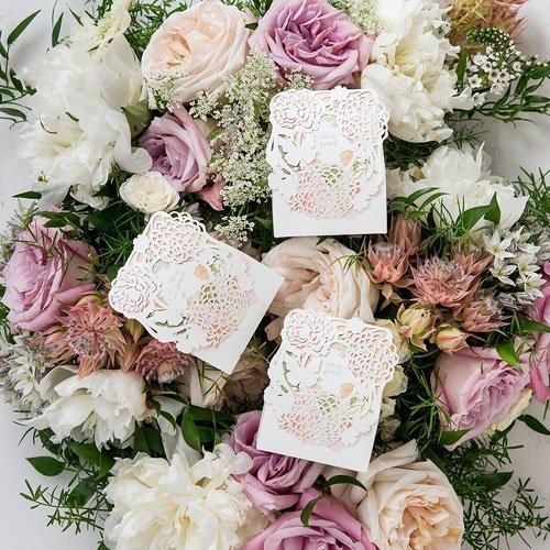 Floral Garden Wedding Favour Boxes
