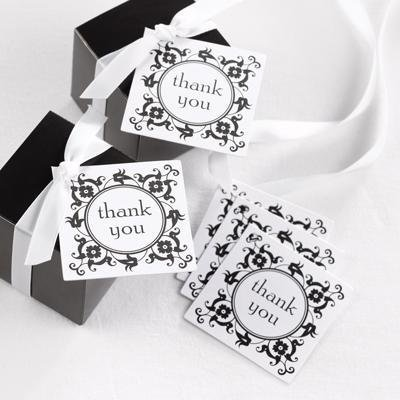 Flourish Favour Thank You Cards