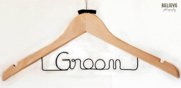Groom Coat Hanger
