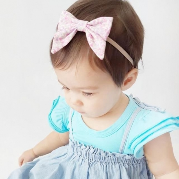 Ice Blue Short Sleeve Flutter Onesie
