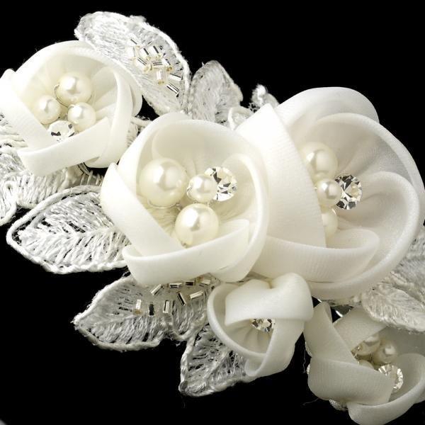 Ivory Rose Bridal Headband