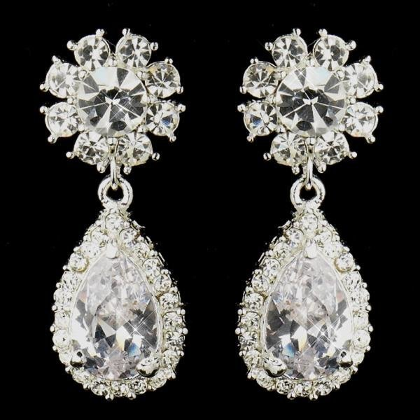 Kim Kardashian Inspired Bridal Earrings
