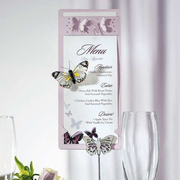 laser expressions butterfly stationery holder stationery wed