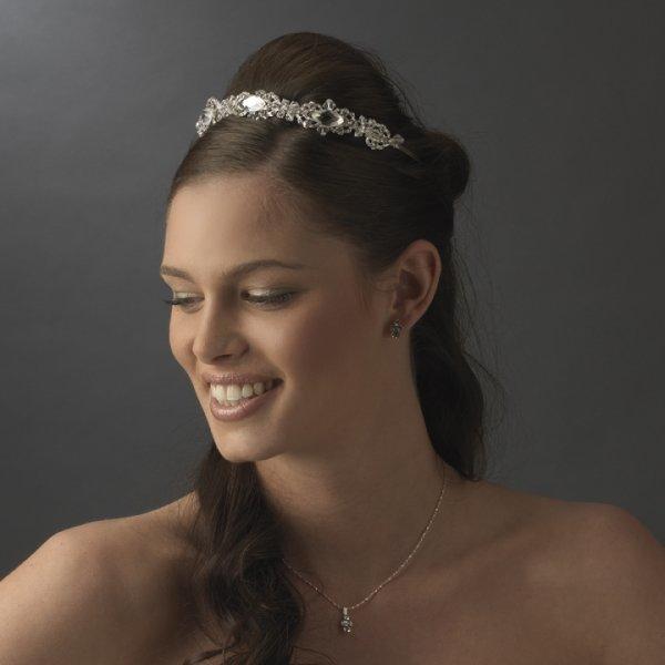 Modern Bridal Headband