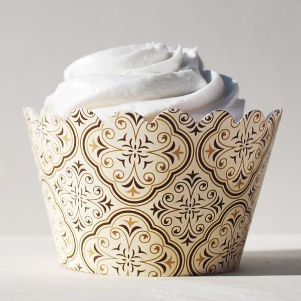 Moroccan Dawn Cupcake Wrappers - Pack of 12
