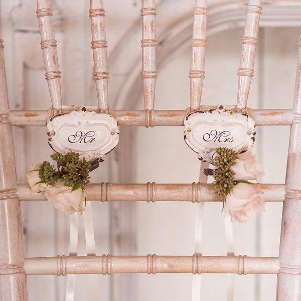 mr mrs shabby chic hook set decorations supplies weddings