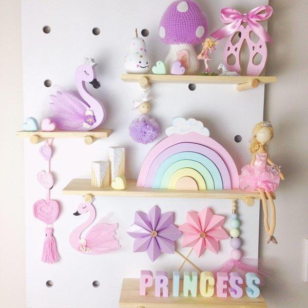 Rainbow Personalised Molded Kids Names - Room Decor