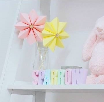 Rainbow Personalised Molded Kids Names - Room Decor