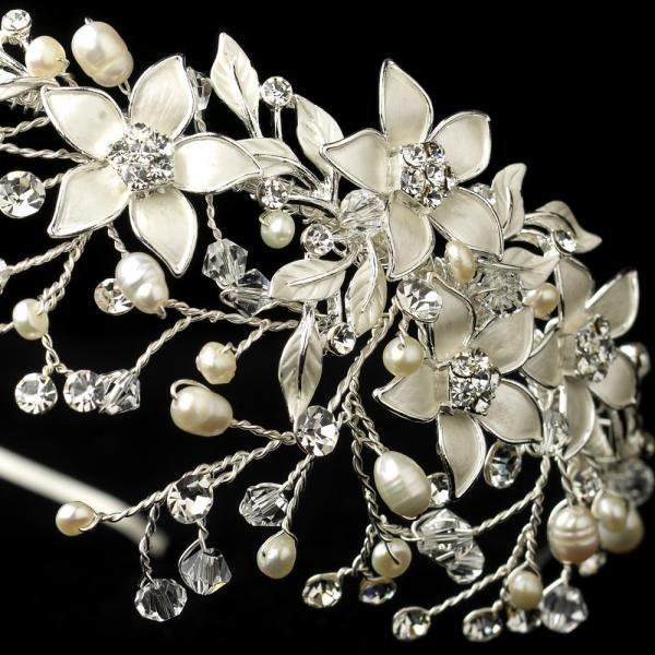 Pearl Blossom Bridal Headpiece