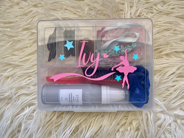 Personalised Ballet Hair Accessory Boxes
