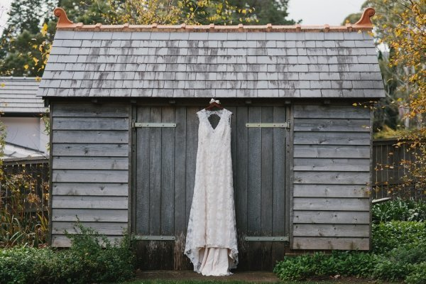 Personalised Wedding Coat Hanger With Large Bow