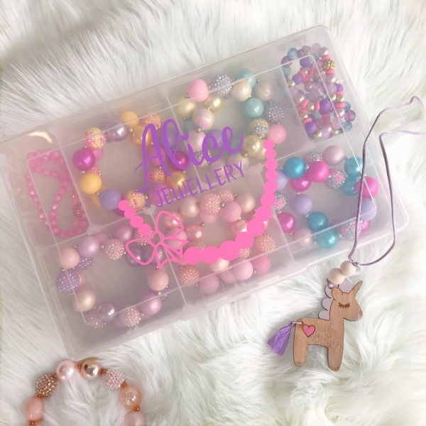 Personalised Kids Jewellery Accessory Boxes