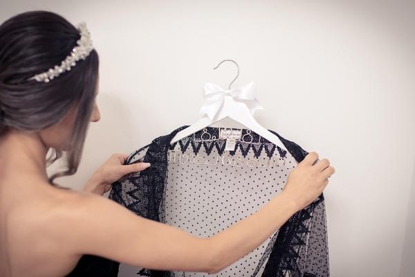 Bridal Couple Coat Hanger With Wedding Date