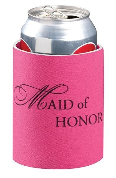 Maid Of Honor Stubby Cooler