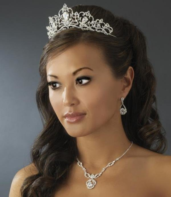 Silver Plated Bridal Tiara