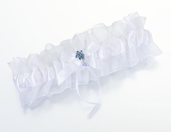 Something Blue Bridal Garter