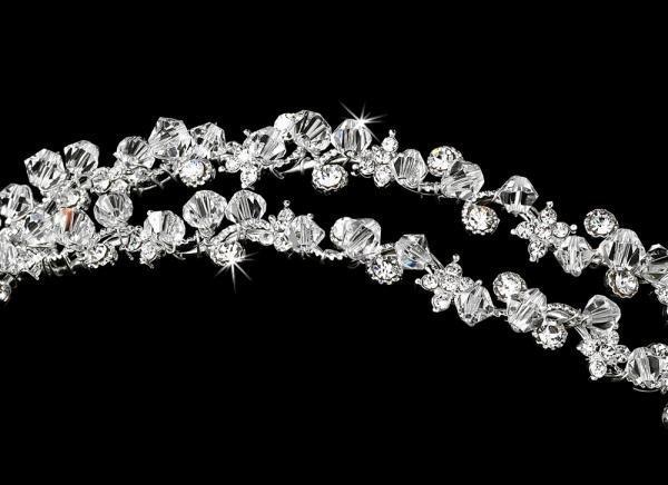 Silver Double Headband