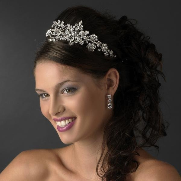 Stunning Silver Headpiece