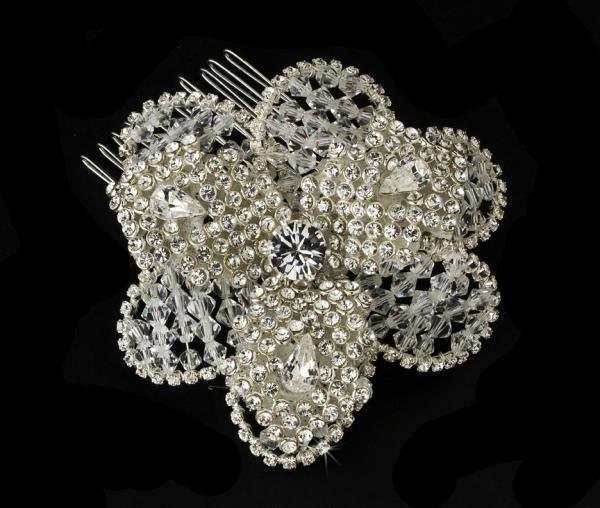 Stunning Swarovski Crystal Bridal Comb
