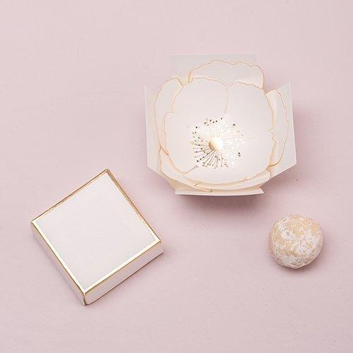 Surprise Bloom Flower Wedding Favour Box