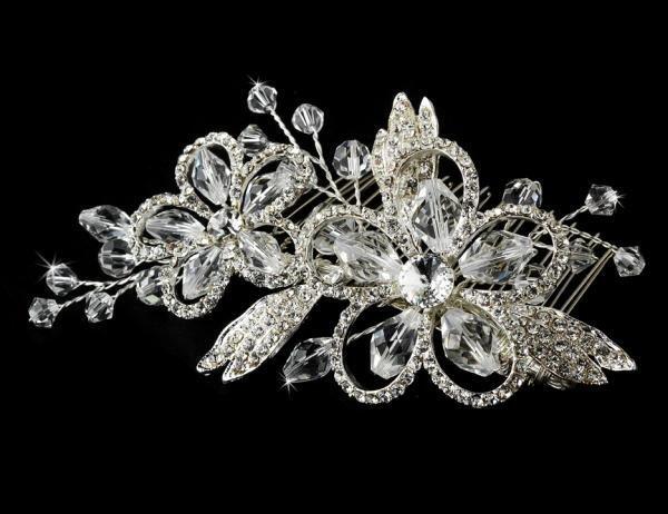 Swarovski Crystal Side Comb