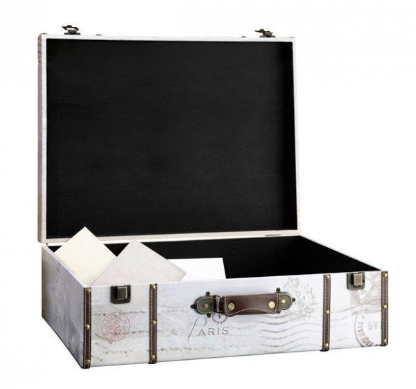 True Love Suitcase Wedding Card Box