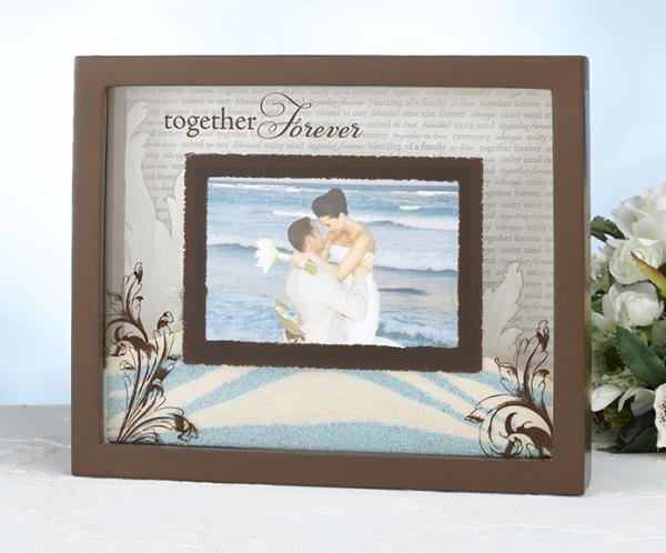 unity sand photo frame sand ceremony how divine