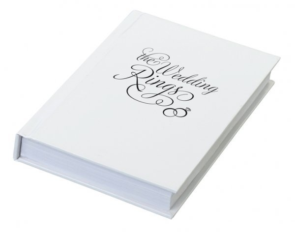 """The Wedding Rings"" Ring Book Box"
