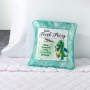 Blue Dragon Satin Tooth Fairy Pillow