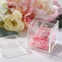 Clear Acrylic Wedding Ring Box