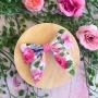 Garden Tea Party Floral Girls Hair Clip or Headband