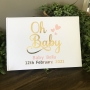 Personalised Baby Shower Guest Book